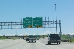 I-70 east at Chambers Rd