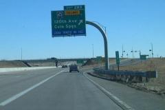 I-70 east at E-470
