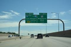 I-70 east ahead of I-76 / SH 121