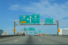 I-70 west at Fairfax District