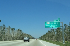 1/4 mile south of SR 860