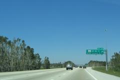 North at SR 860 / Exit 4