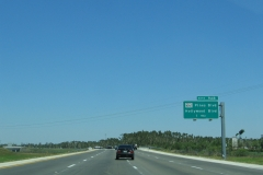 1 mile south of SR 820