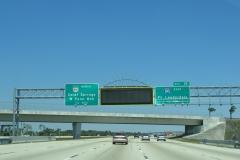 1/2 mile south of I-595/SR 869