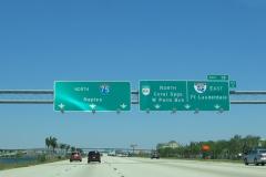 North at I-595/SR 869