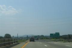 I-86 west at Exit 52B