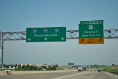 Rest area ramp to I-94