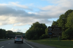 Exit 79A Reservation sign