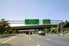 I-95 south splits from I-495