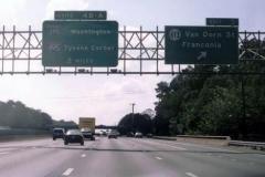I-95/495 south at SSR 613