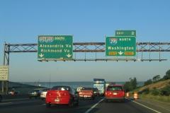 I-95/495 west at I-295