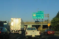 I-95/495 west at MD-210