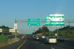 South 1 mile ahead of I-395