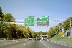 North at I-66 east