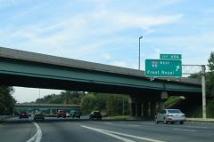 North at I-66 west