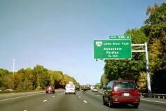 I-495 north ahead of VA 236
