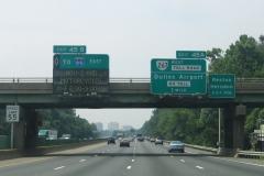 1 mile ahead of VA 267
