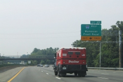 I-495 south ahead of I-66