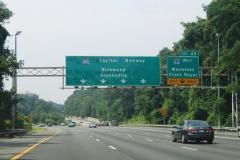 I-495 south at I-66 west