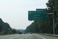 Nearing VA 236 on I-495 south