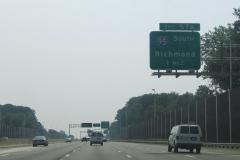 1 mile ahead of I-95/395