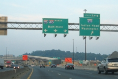 I-95/495 north at I-295