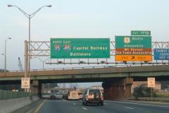 I-95/495 north at US 1