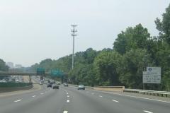 I-66 HOV restriction sign