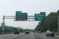 1/2 mile north of VA 167