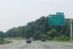 1/2 mile north of VA 123