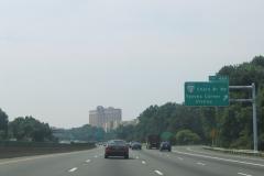 I-495 south at VA 123