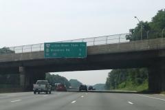 1.25 miles north of VA 236