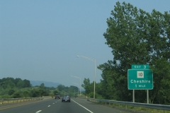 1 mile ahead of CT 10 on I-691 east