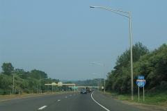 First I-691 eastbound shield