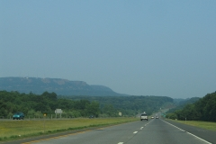 Mountain northeast of I-691