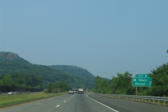 I-691 east at Exit 4 / W Main Street