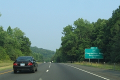 One mile ahead of Exit 5 / CT 71
