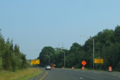 Expressway Ends 1/2 mile