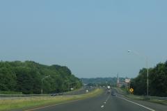 Eastbound I-691 after Exit 7