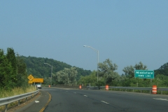 I-691 east at Middlefield