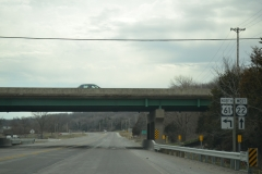 IA 22 west at US 61