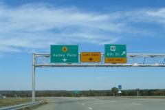 US 40 & K-4 east split