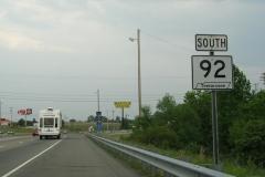 SR 92 shield after I-40
