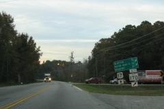 US 17 north at former SC 170 Alt