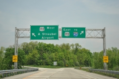Wis 172 ramps from U.S. 41 north