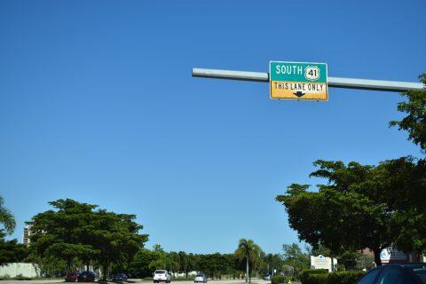 CR 865 north at US 41 - Lee County, FL