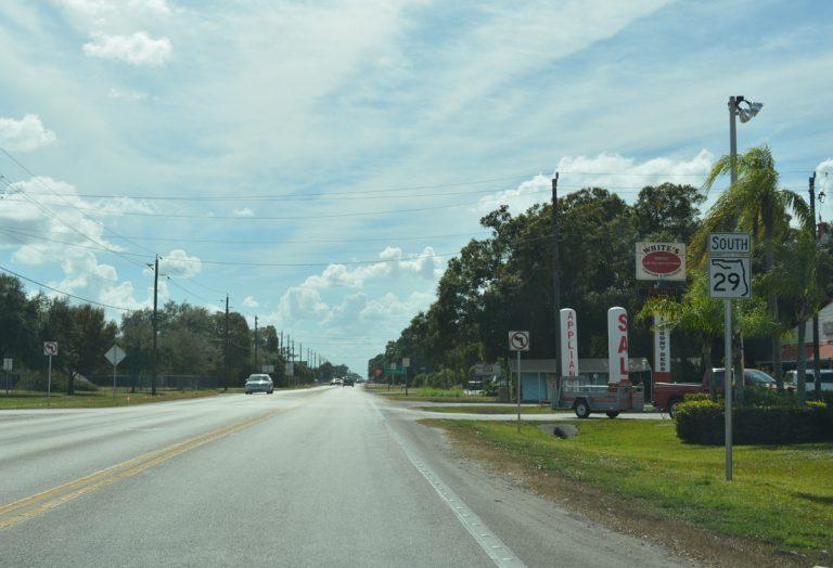 SR 29 south - LaBelle, FL
