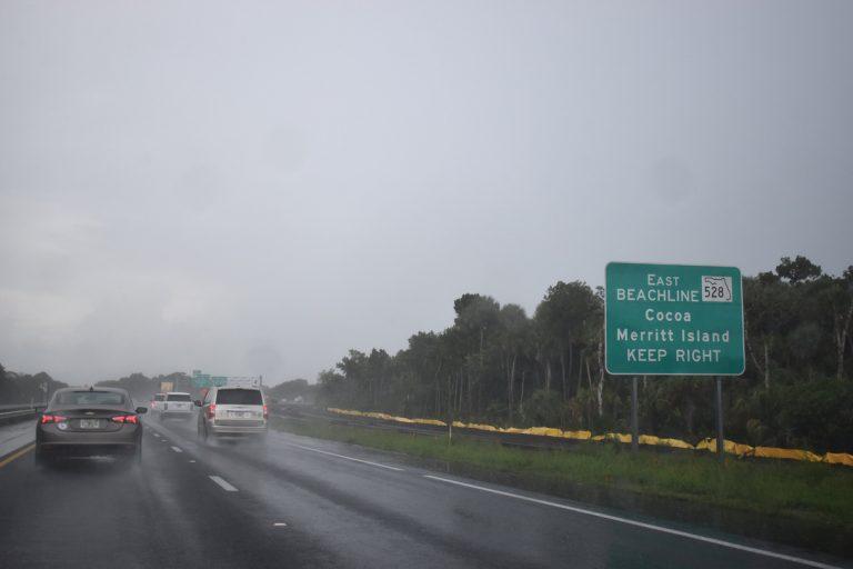 SR 528 east at SR 407