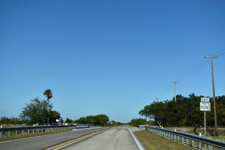 SR 9336 east of Everglades National Park