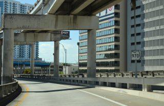 SR 970/Downtown Distributor west at I-95 - Miami, FL